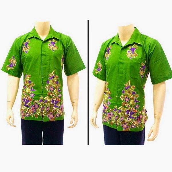 Baju Hem Batik Pria