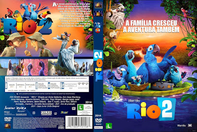 Filme Rio 2 DVD Capa
