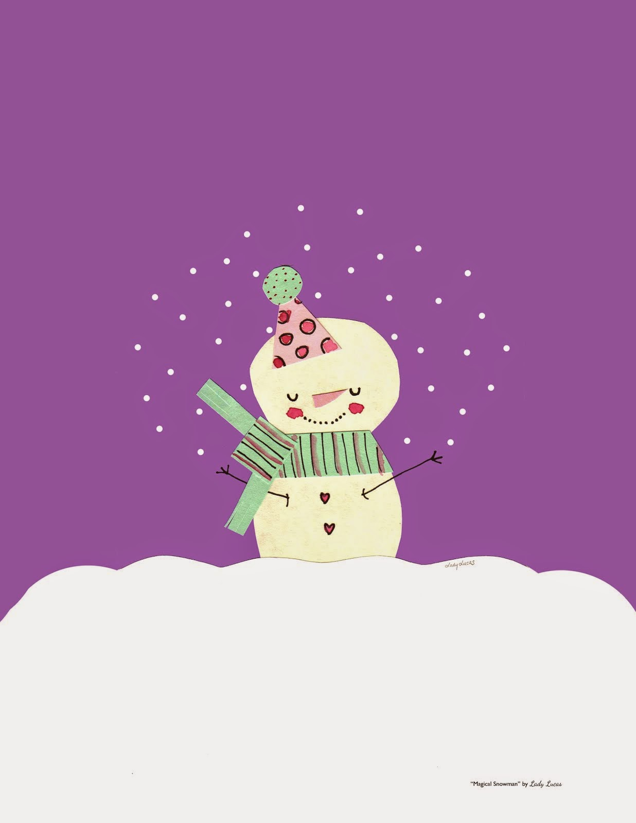 25 Days of Snowmen