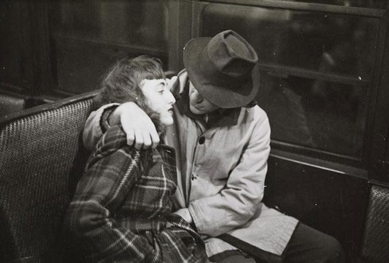 Metro de Nueva York en 1946 capturado por un Stanley Kubrick de 17 años de edad