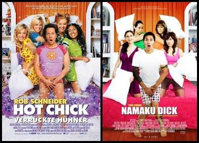 Poster film Indonesia plagiat jiplak niru luar negeri