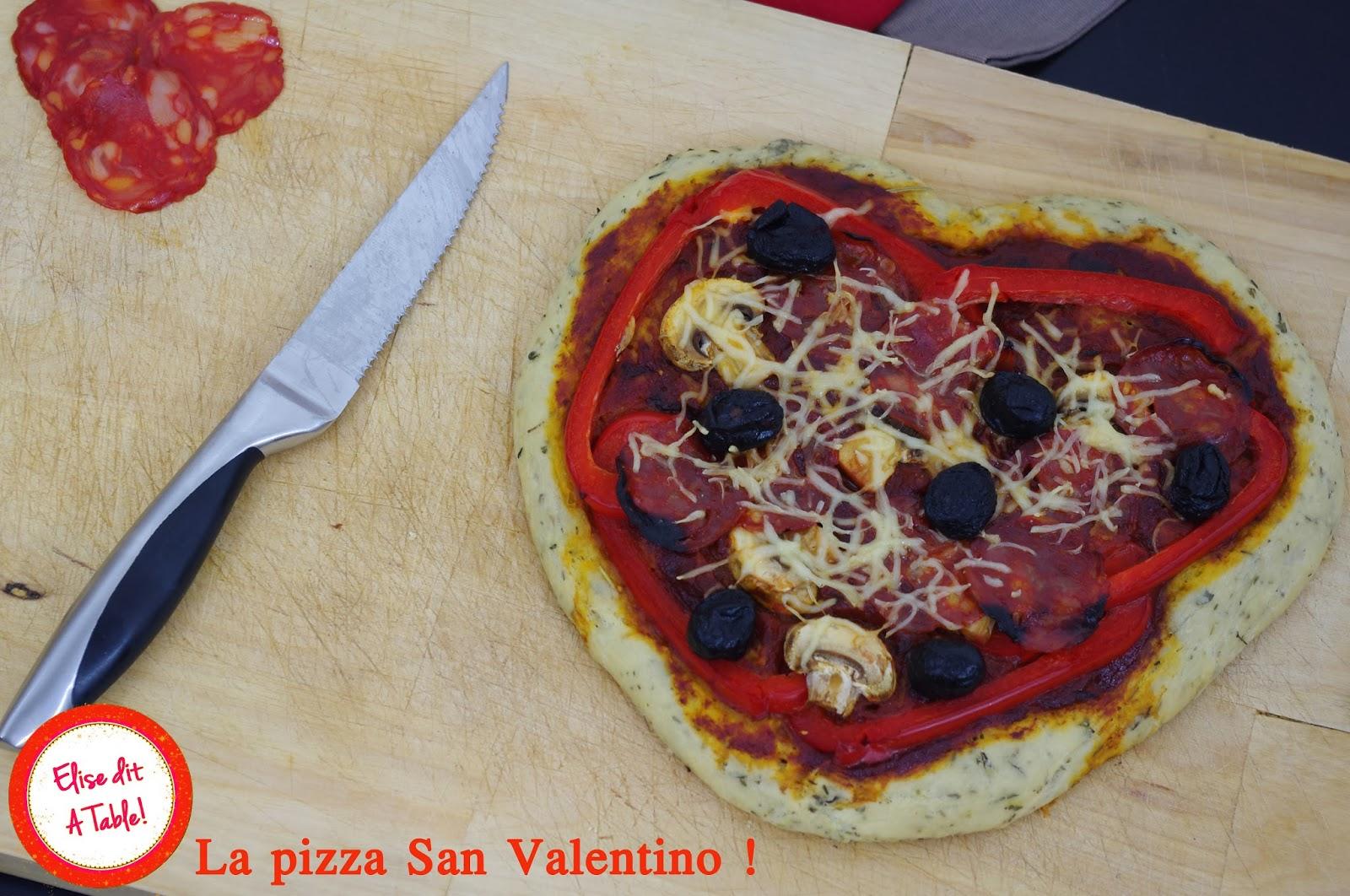 La pizza San Valentino