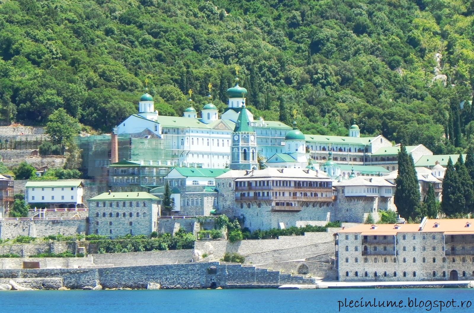 Manastirea Sfantul Pantelimon din Athos