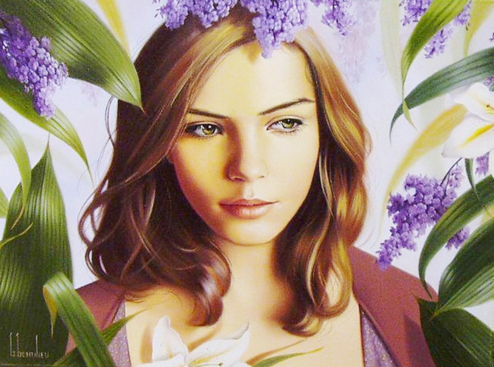 Cuadros Modernos: Pinturas: Hermosas Mujeres