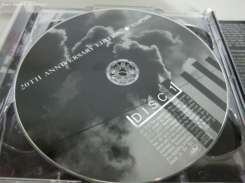 Queensryche Empire 20th Anniversary Edition ku di halaman r...