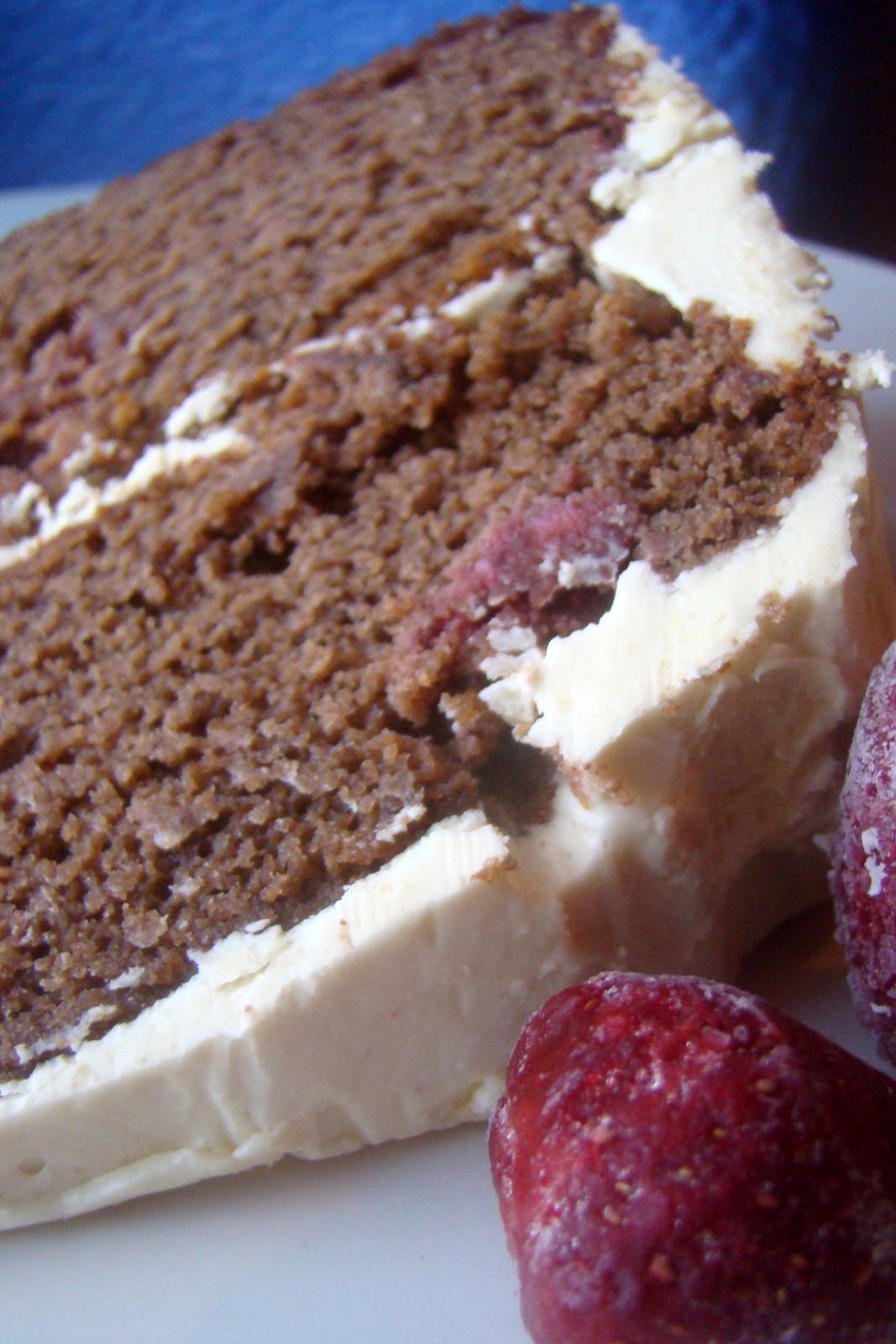 Nourished And Nurtured Strawberry Chocolate Layer Cake Gaps Legal