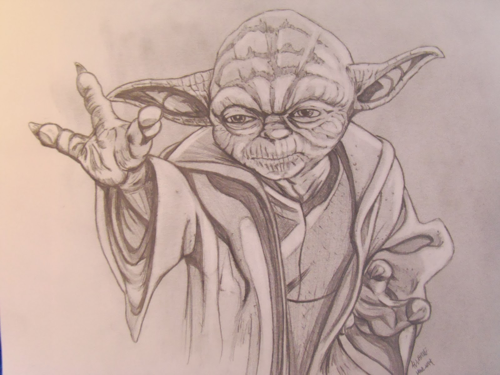 Yoda Clone Wars Sketch | 2017 - 2018 Best Cars Reviews