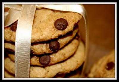 primo piano biscotti cotti