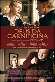 """Cartaz brasileiro do filme """"Deus da Carnificina"""""""