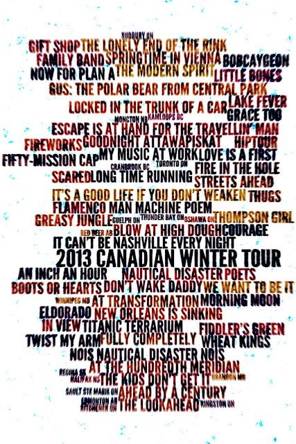 Red Tour Setlist London