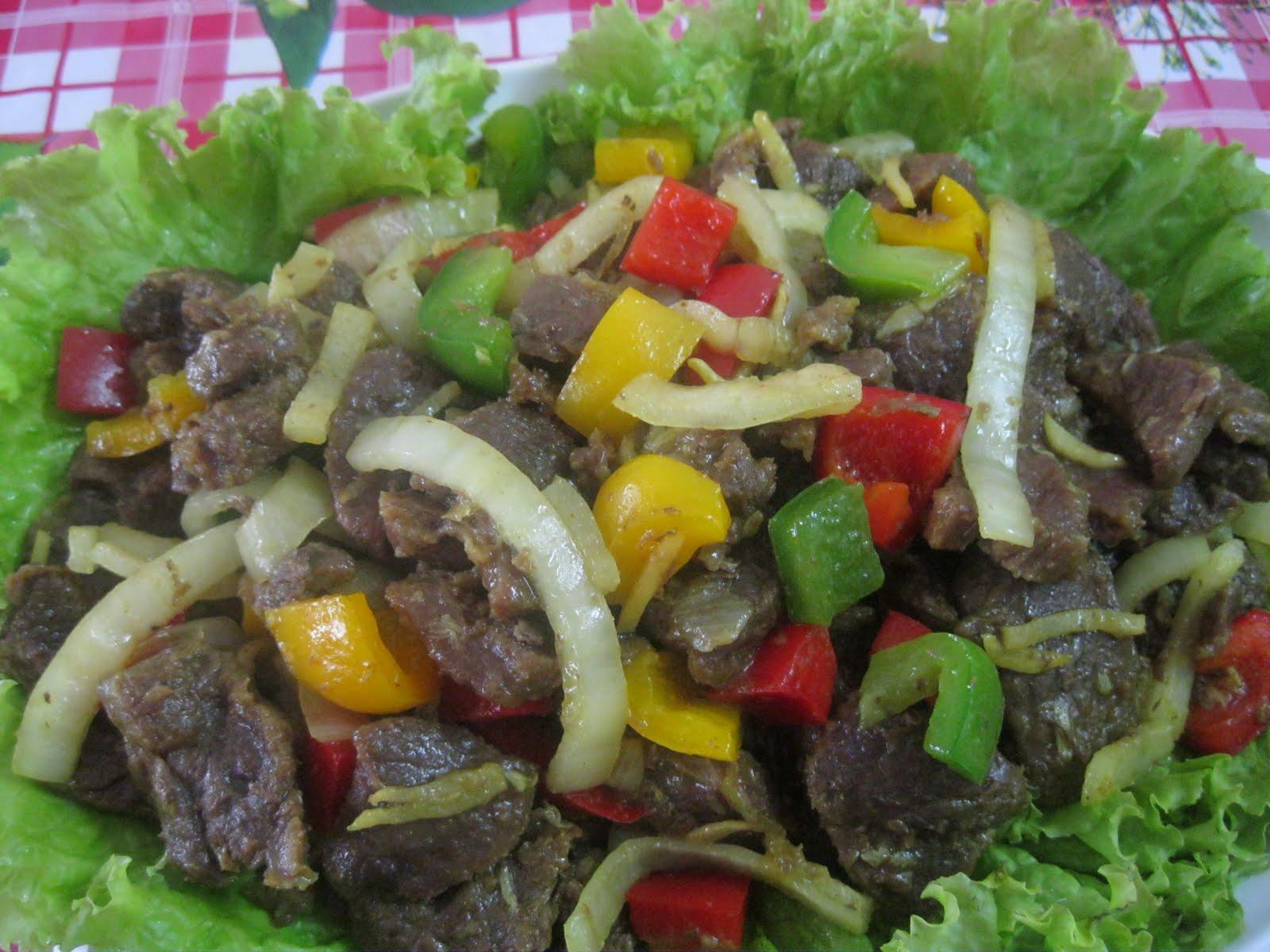Dari Dapur Maklong: Daging Goreng Kunyit