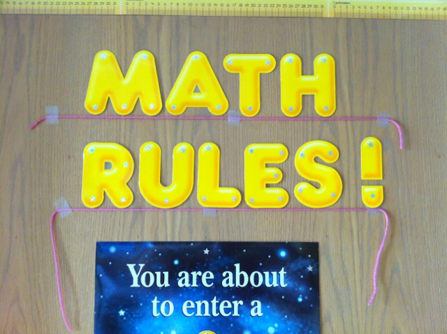 Classroom Decorating Ideas Middle School Math ~ Middle school math rules a few new photos and couple
