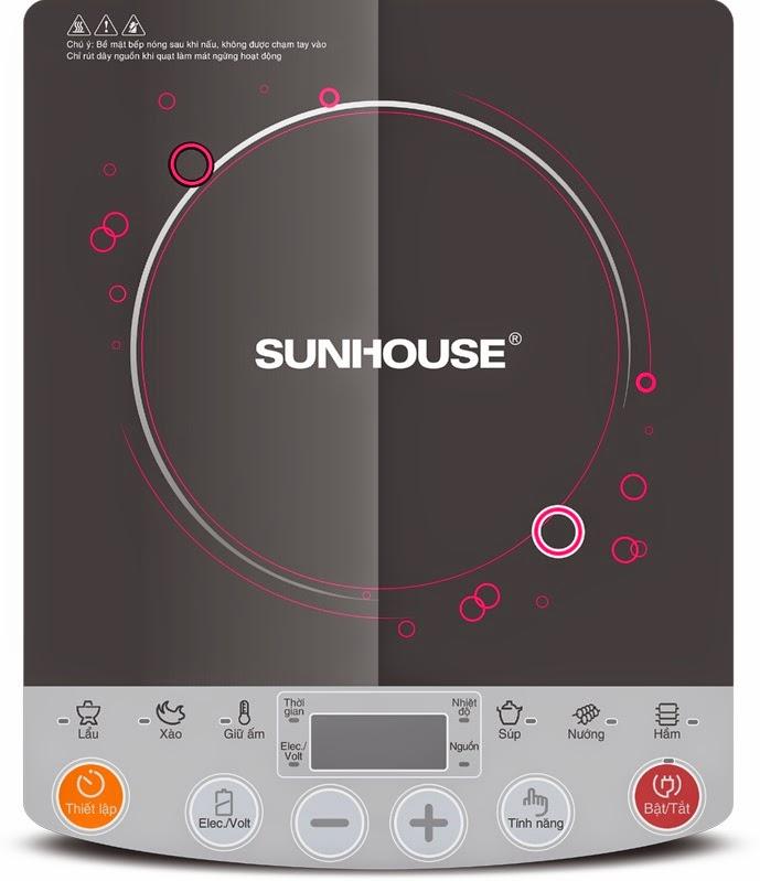 bếp từ sunhouse shd 6151