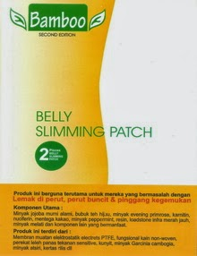 Harga Koyo Kaki Bamboo Belly Slimming Patch