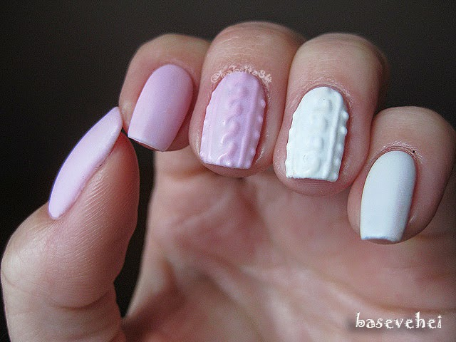 Baseveheinails Manicure Hybrydowy 3d Cable Knit Sweater
