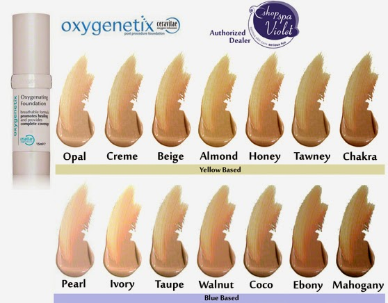 Oxygenetix Colors