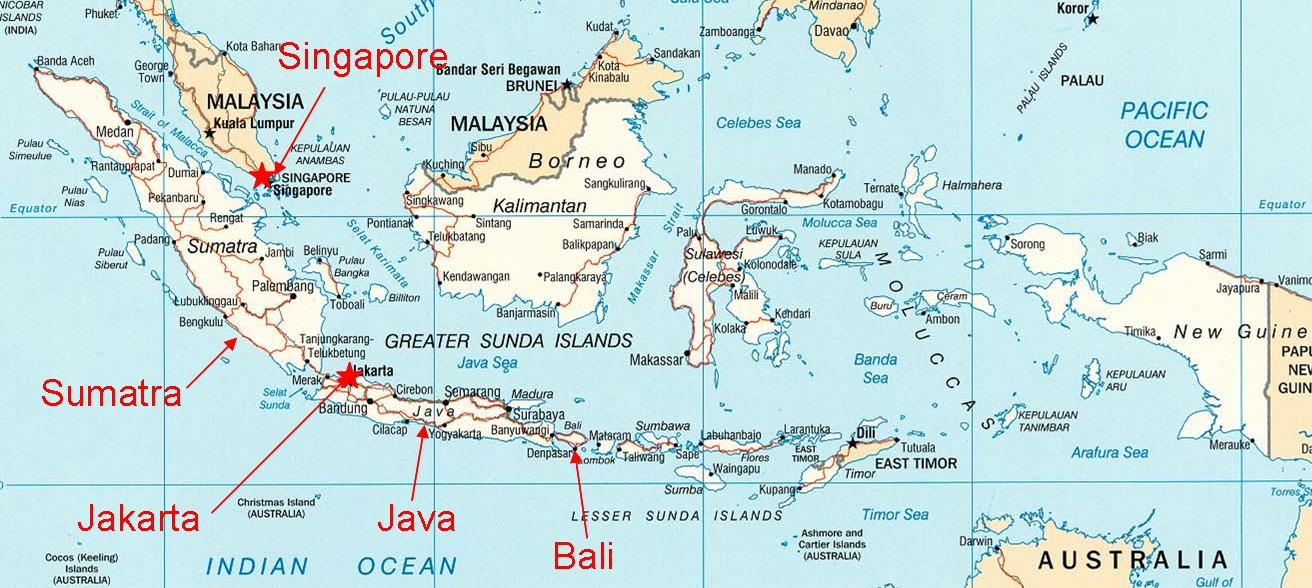 Trip to the world indonesia islands download this map indonesia west sumatra province located the island picture gumiabroncs Gallery
