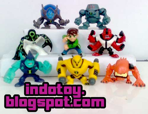Jual Action Figure Ben10 Super Deform Chibi