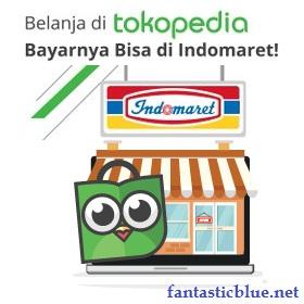 Belanja di Tokopedia Bayar cash di indomaret