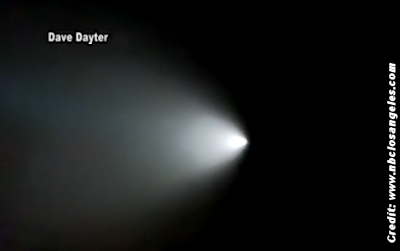 Bright Light in Sky - UFOs or Gov. Cover-Up 11-7-15