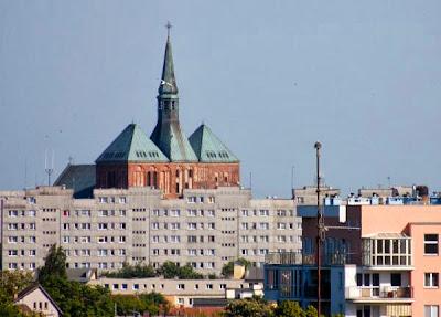 Katedra widziana z latarnii