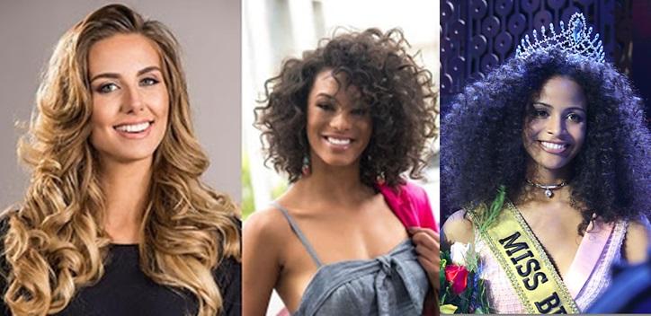 Misses Universo Brasil 2015, 2016 e 2017