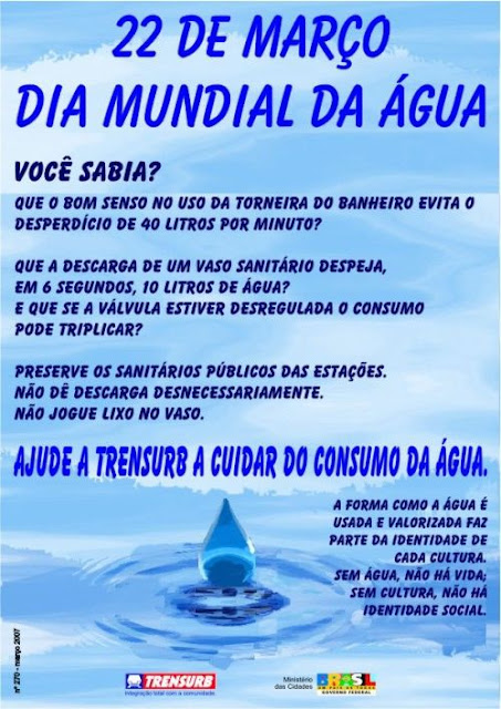 Voce Realmente Sabia 22 De Março Dia Mundial Da água