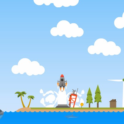 Wonder Rocket FLASH GAME