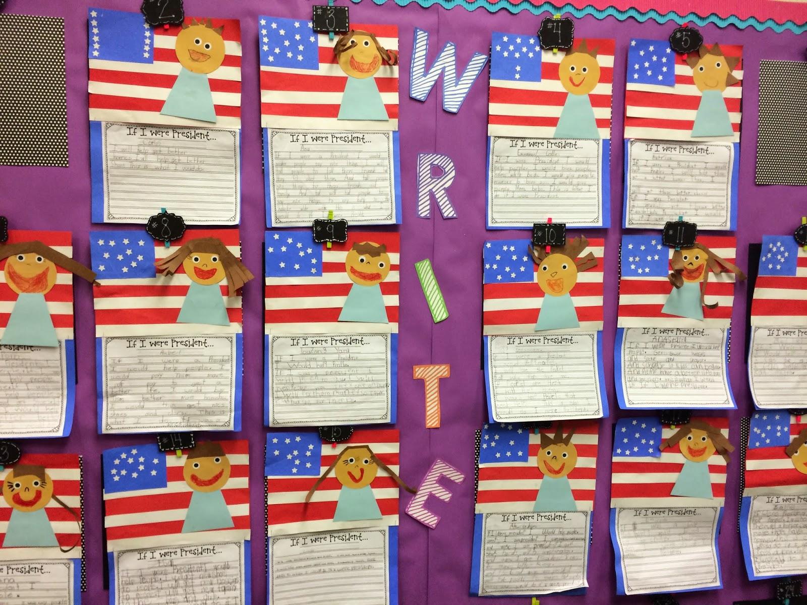 Mrs Peterson Loves to Teach Life of an ElementaryTeacher If I – If I Were President Worksheet