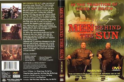 Los hombres detrás del sol | 1988 | Hei Tai Yang 731 (Men Behind the Sun) Cover, dvd, caratula