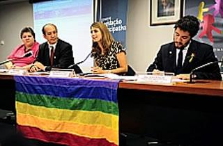 Seminário discutiu propostas do movimento LGBT para o Plano Nacional de Educação (Foto: Brizza Cavalcante)