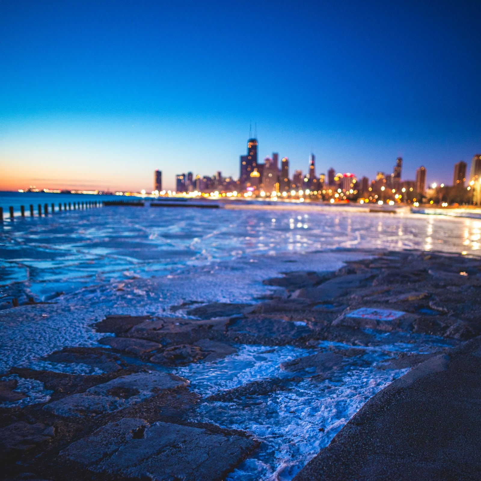 Chicago Bokeh Sunrise