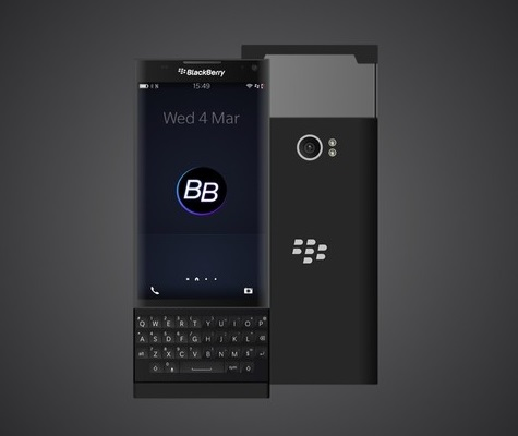 BlackBerry Venice color negro carateristicas y imagenes