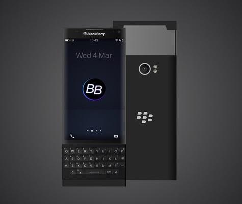 BlackBerry Venice color negro carateristicas y imagenes