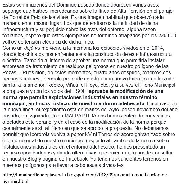 HOY (PSOE) IGUAL QUE AYER (PP)