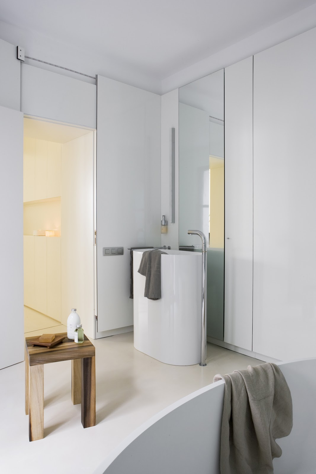 Accesorios De Baño Cromados Modernos: de suelo de lavabo y bañera d38 de supergrifaccesorios cromados tara