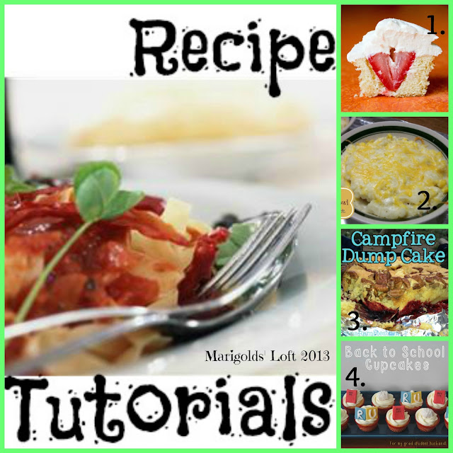 Recipe Tutorials Featured