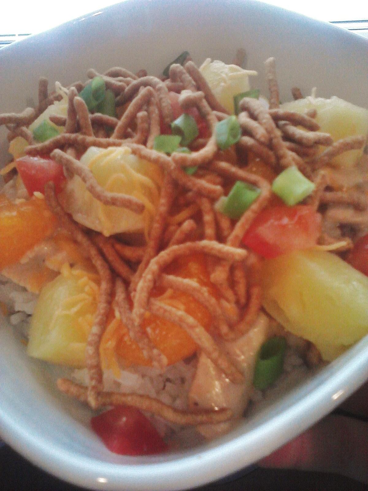 Britt's Apron: Hawaiian Haystacks w/ Homemade Chicken Sauce