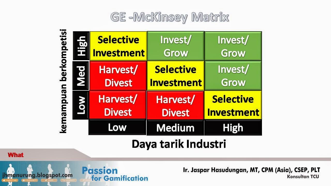ge matrix itc Ge multifactoral analysis is a technique used in brand marketing and product management to help a company the ge matrix helps a.