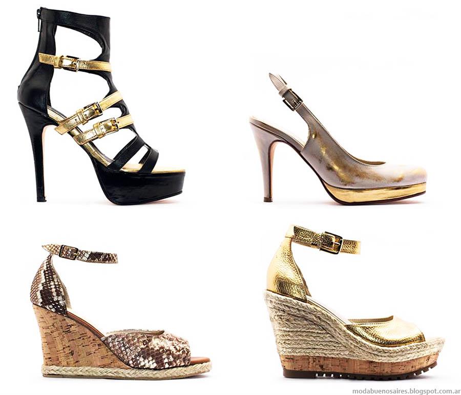 Zapatos primavera verano 2015. Sandalias 2015. Anjou Femme Moda primavera verano 2015 zapatos.