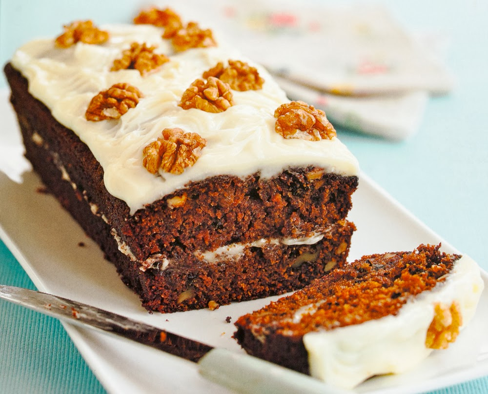 loaf cake almond poppy seed loaf cake walnut cake carrot walnut loaf ...