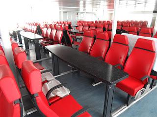 tempat duduk penumpang Langkawi Auto Express