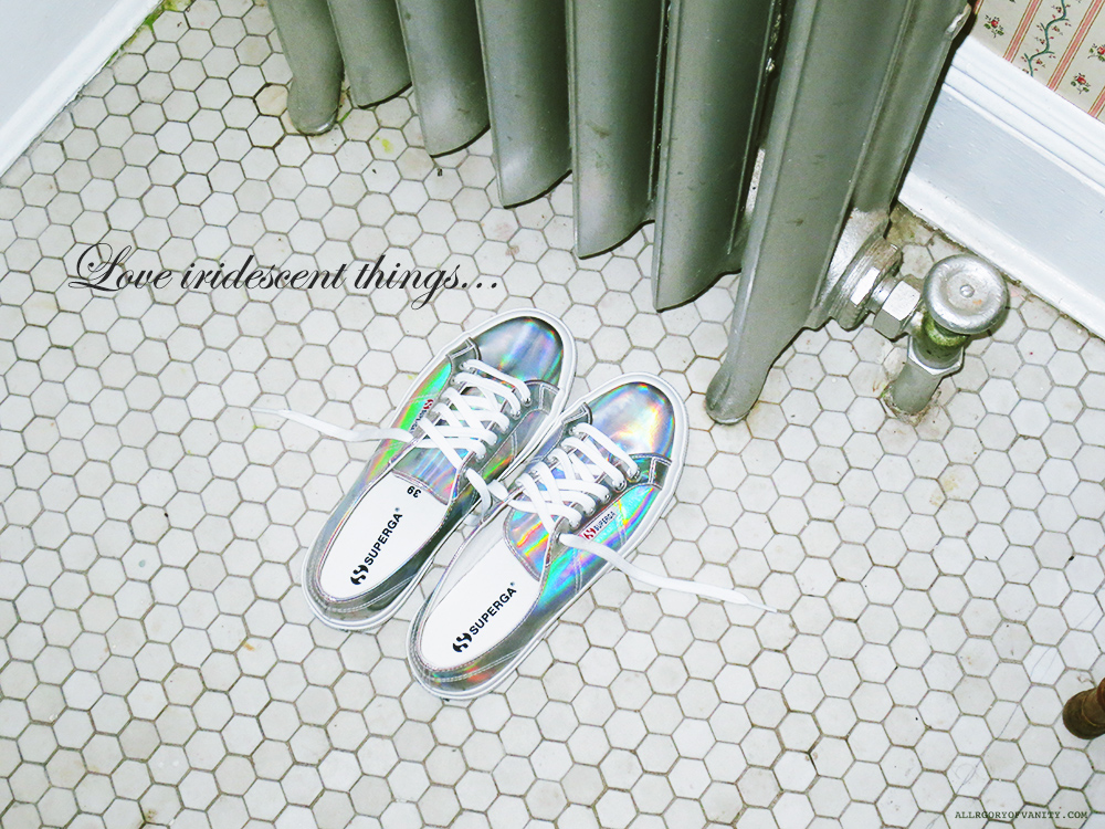 Iridescent Superga || Allegory of Vanity