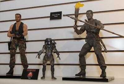 NECA 2013 Toy Fair Display Pictures - Predator Series 9 figures