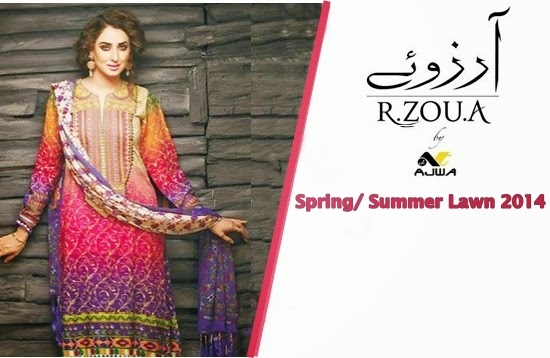 R.Zou.A Lawn Collection 2014