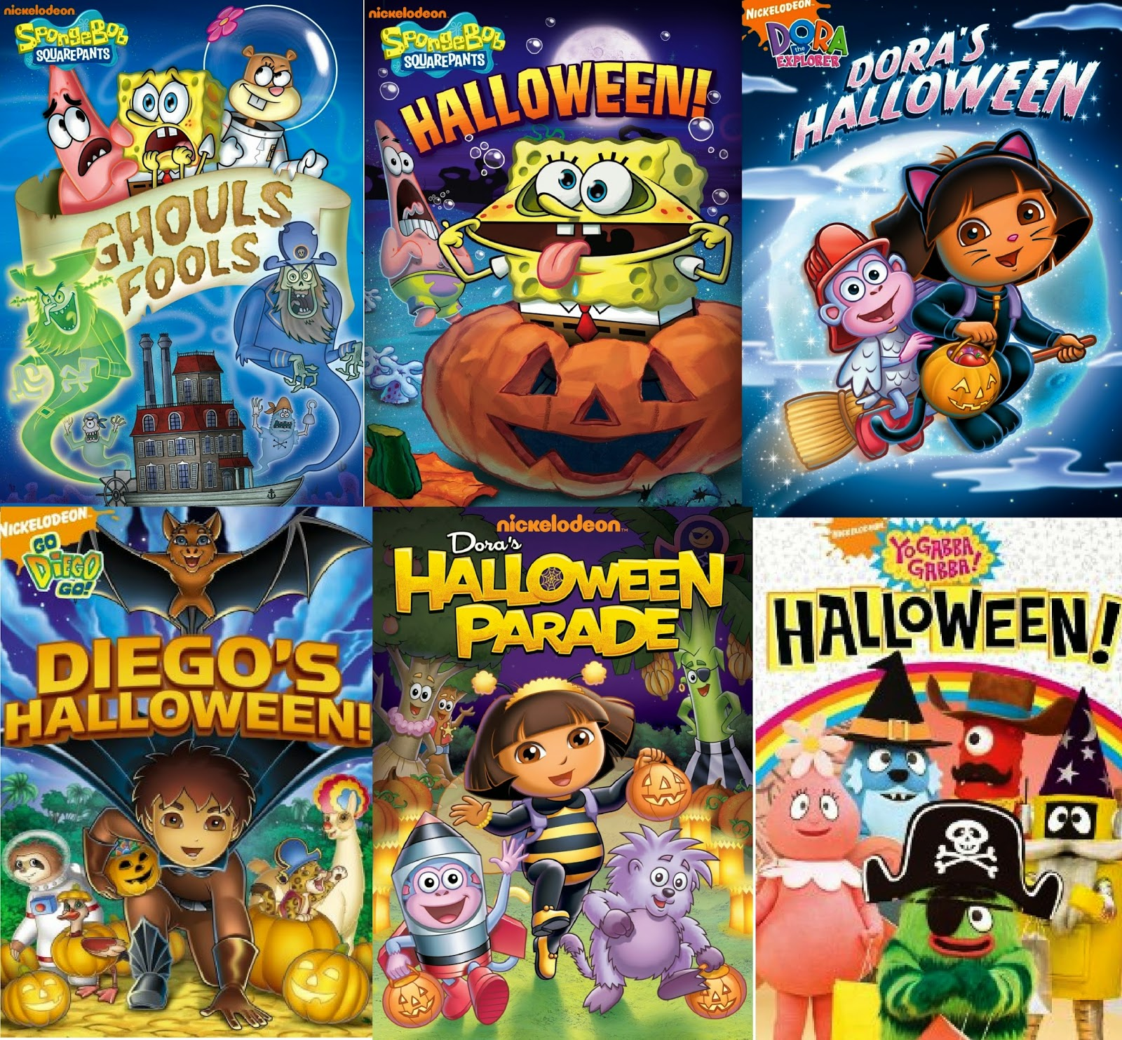 Enter the Nickelodeon Halloween Themed DVD Roundup Giveaway. Ends 10/31.