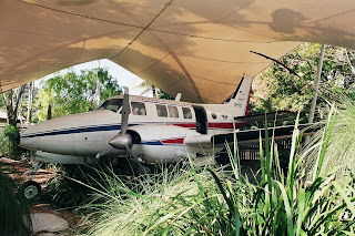 RFDS Royal Flying Doctor Service of Australia Cairns Museum Beechcraft Queen Air
