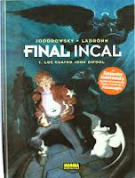Final Incal 1: Los Cuatro John Difool,Jodorowsky,Ladrönn,Norma Editorial  tienda de comics en México distrito federal, venta de comics en México df