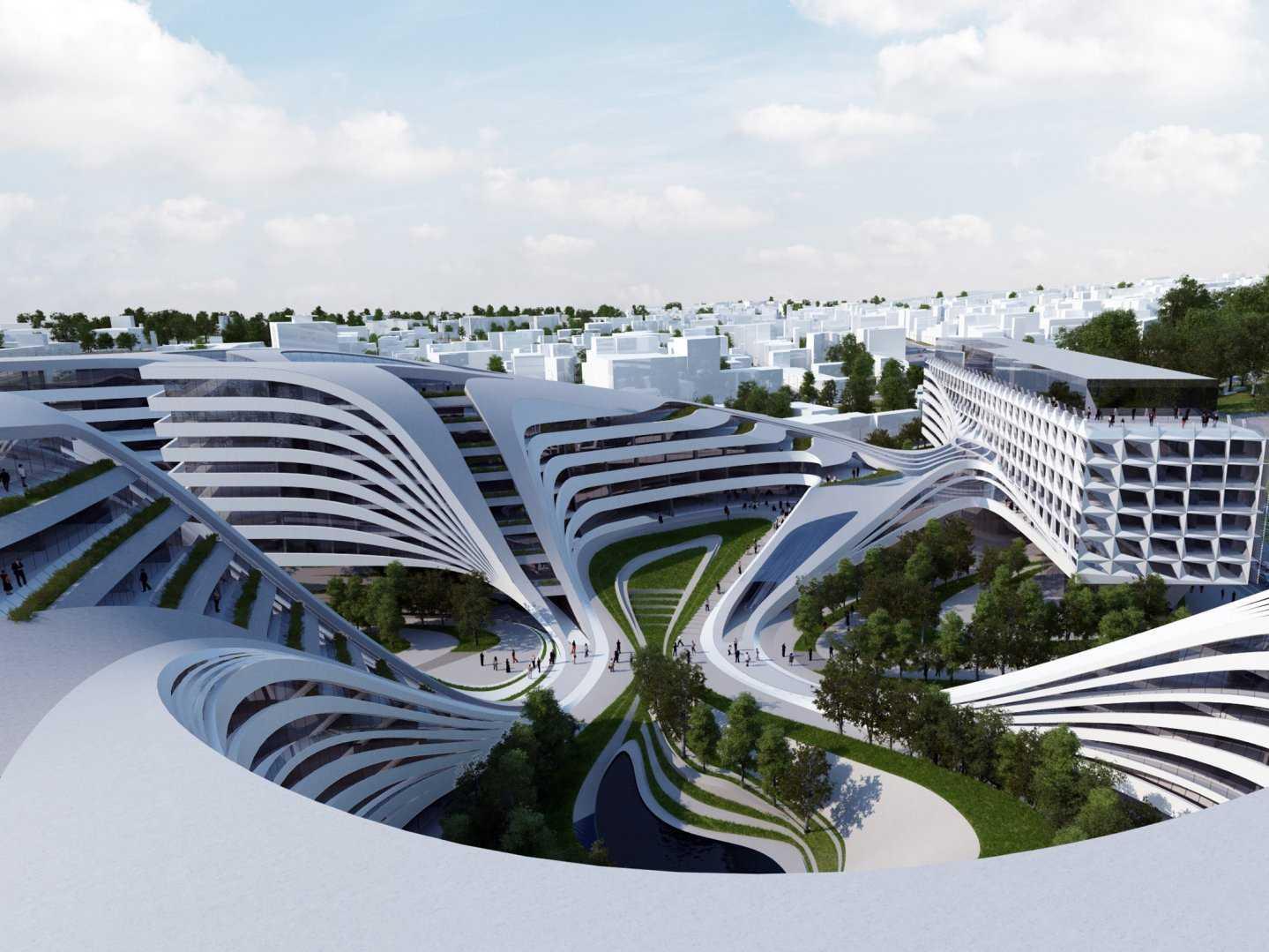 Zaha Hadid Design Concepts And Theory the daily glean: guest post: zaha hadid's architectural wonders