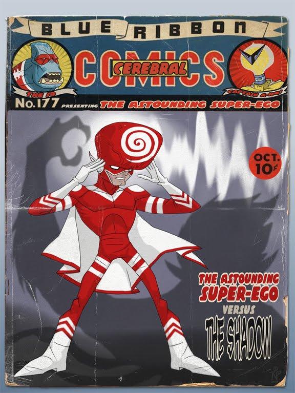 Blue Ribbon Cerebral Comics #177